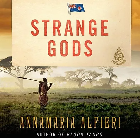 Strange Gods Audiobook Cover
