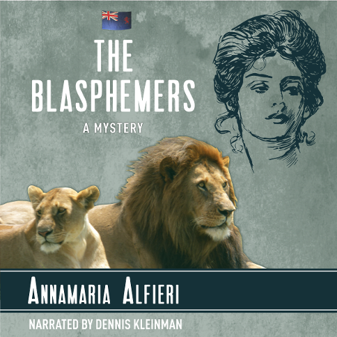 The Blasphemers Audiobook Cover