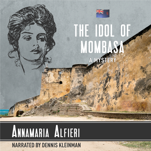 The Idol of Mombasa Audiobook Cover